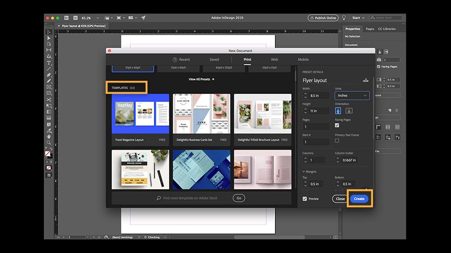 Adobe-InDesign. courses for digital nomads