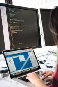 software-development-digital-nomad-writing-code