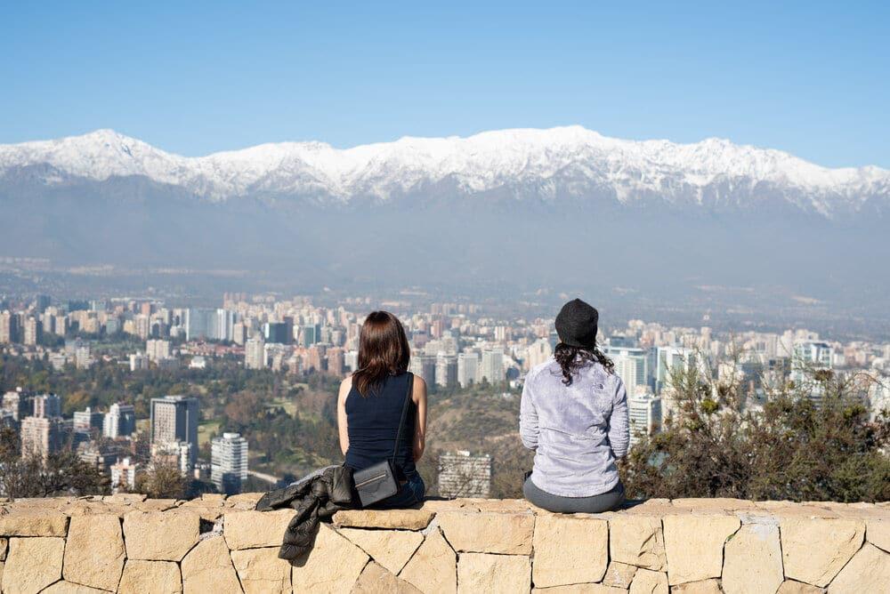 Santiago desde las alturas