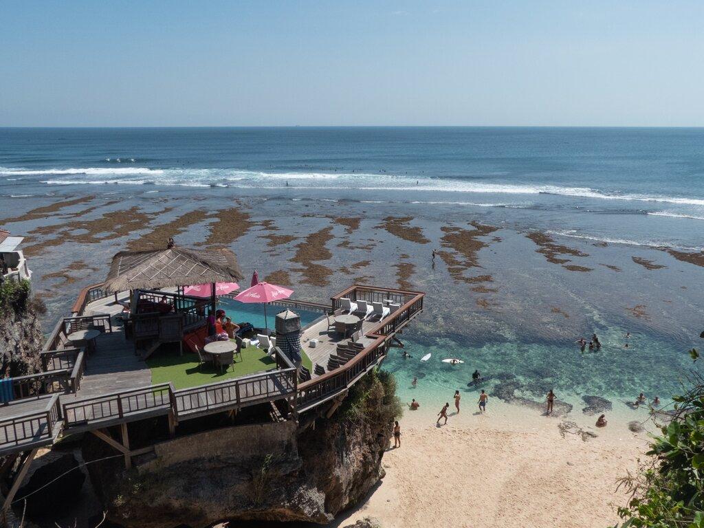 Bali outdoor restaurant