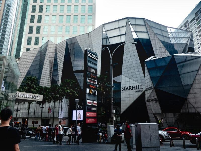 Shopping mall in Bukit Bintang