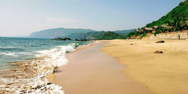 Cola Beach Lagoon, Cola, Goa