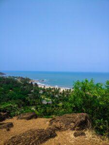 Vagator beach, Panaji , Goa, India