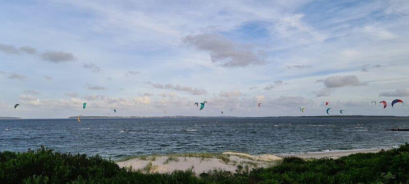 Kite Surfing, Sydney