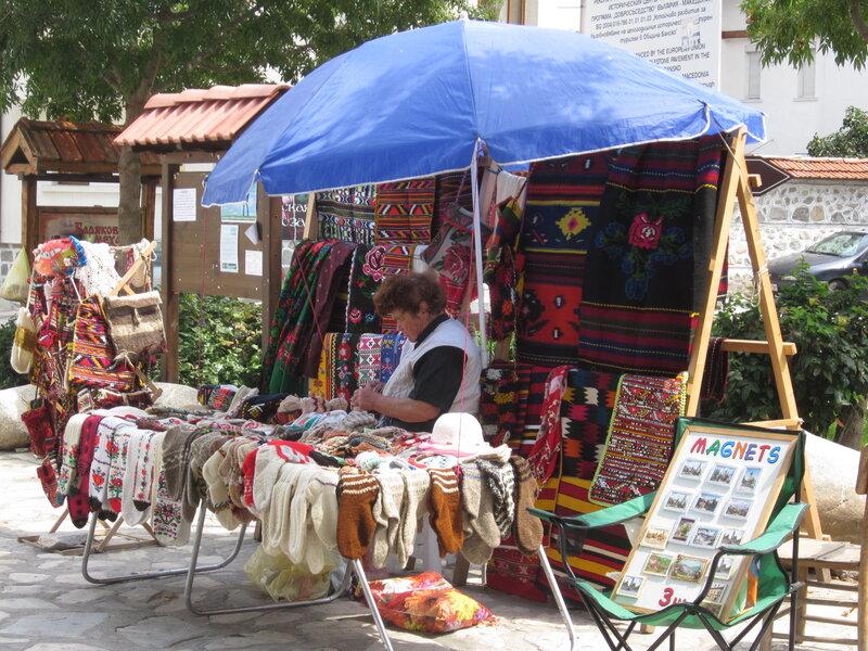 Street vendor, Bansko