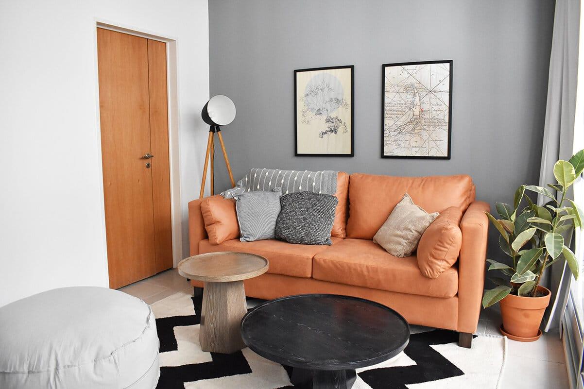 Casa Campus, Balcarce living-room