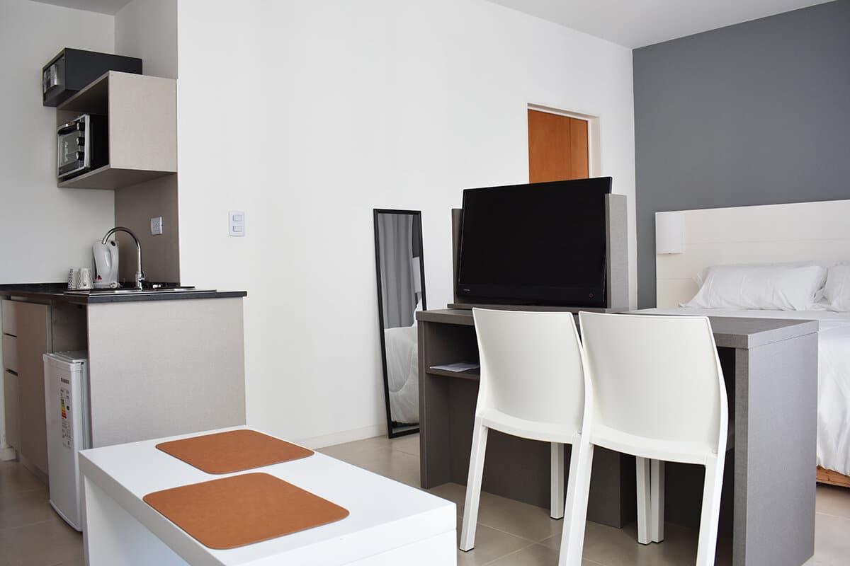 Casa Campus, Balcarce room