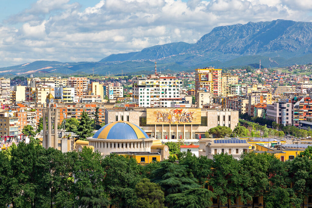 Tirana,Albania for Digital Nomads